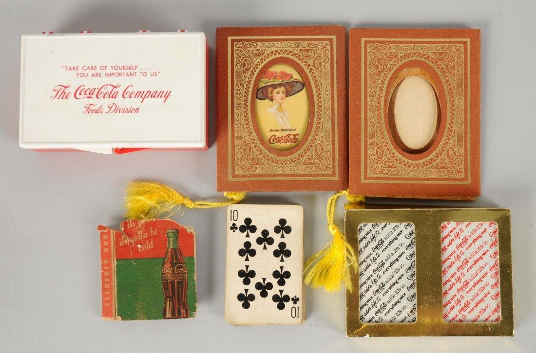 Coca - Cola Commemorative Pocket Mirror, First Aid Kit
