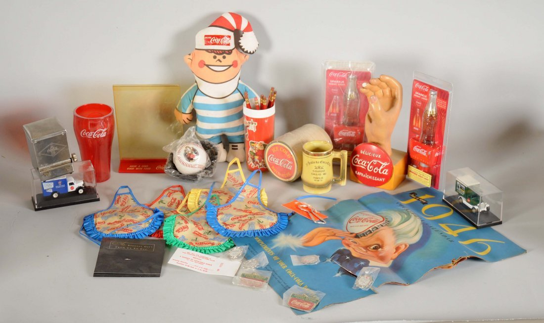 Large Lot of Coca-Cola Memorabilia.