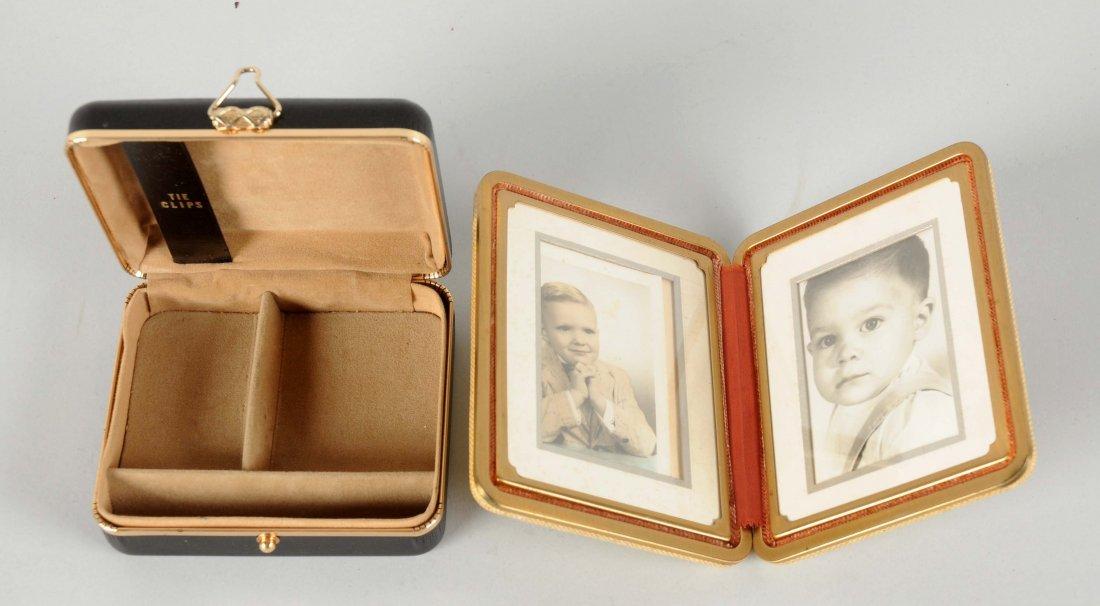 Lot Of 2: Coca-Cola Clip Box & Picture Frame. - 2