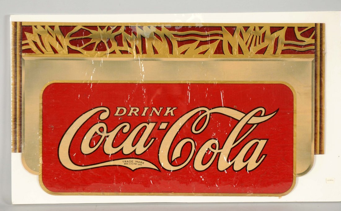 Lot of 10+: 1937 Coca-Cola Decals.