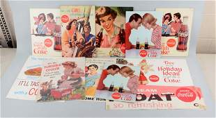 Large Lot Of CocaCola Advertising Pieces