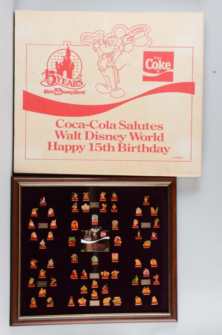 Coca - Cola Walt Disney World Pins.