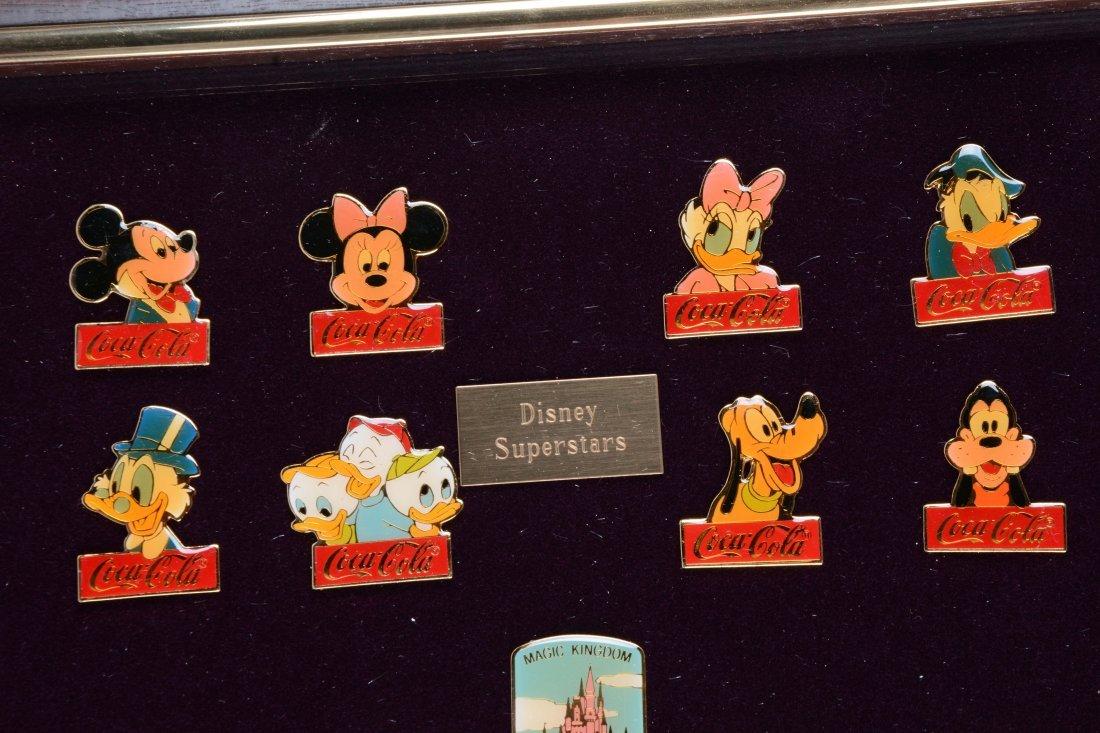 Coca - Cola Walt Disney World Pins. - 2