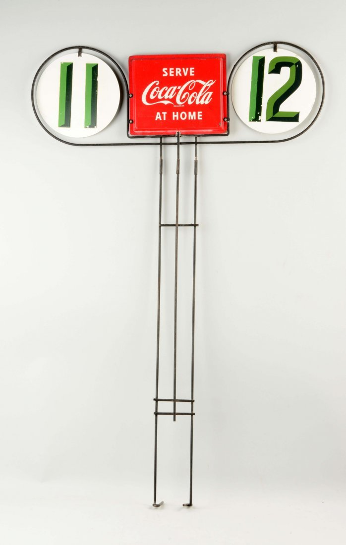 Coca-Cola Isle Marker Advertising Sign. - 2