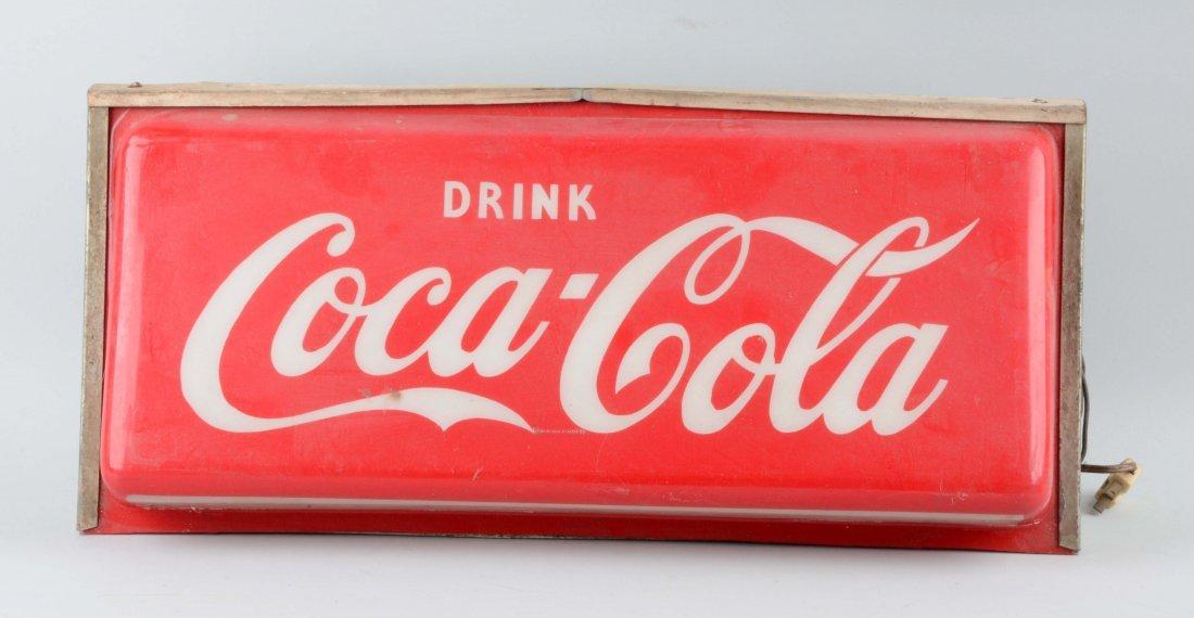 Large Coca-Cola Light Up Sign.