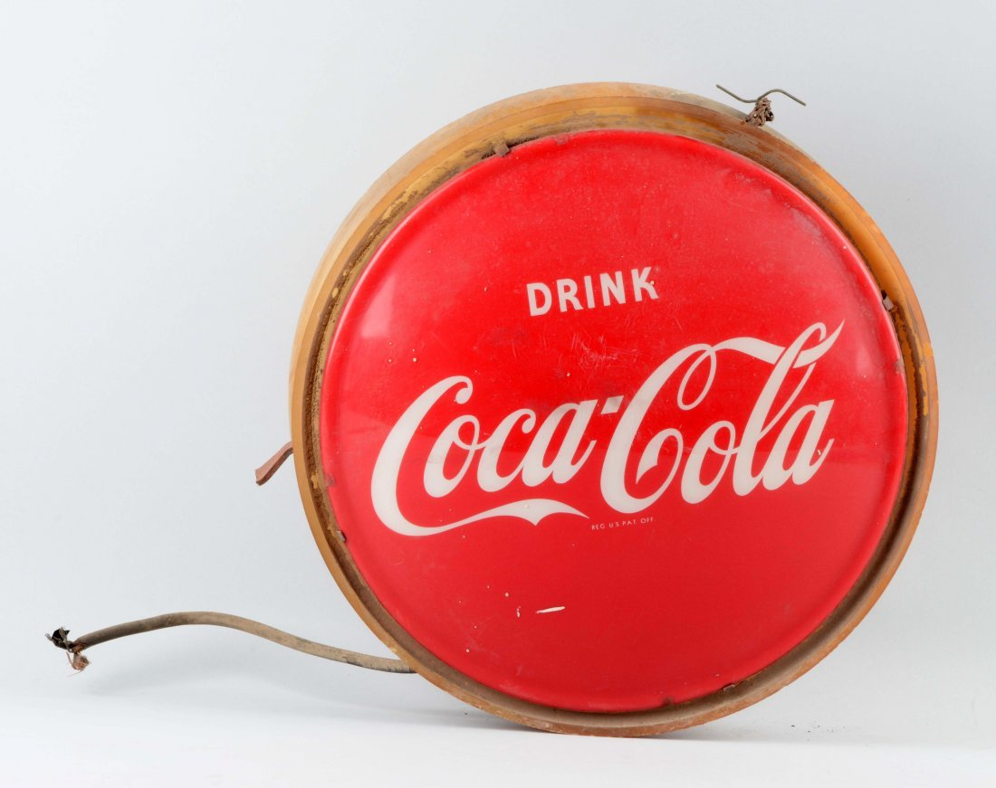 Coca-Cola Light Up Sign.