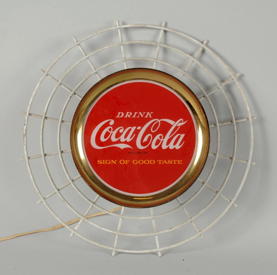 Coca-Cola Light Up Wall Mount Sign.