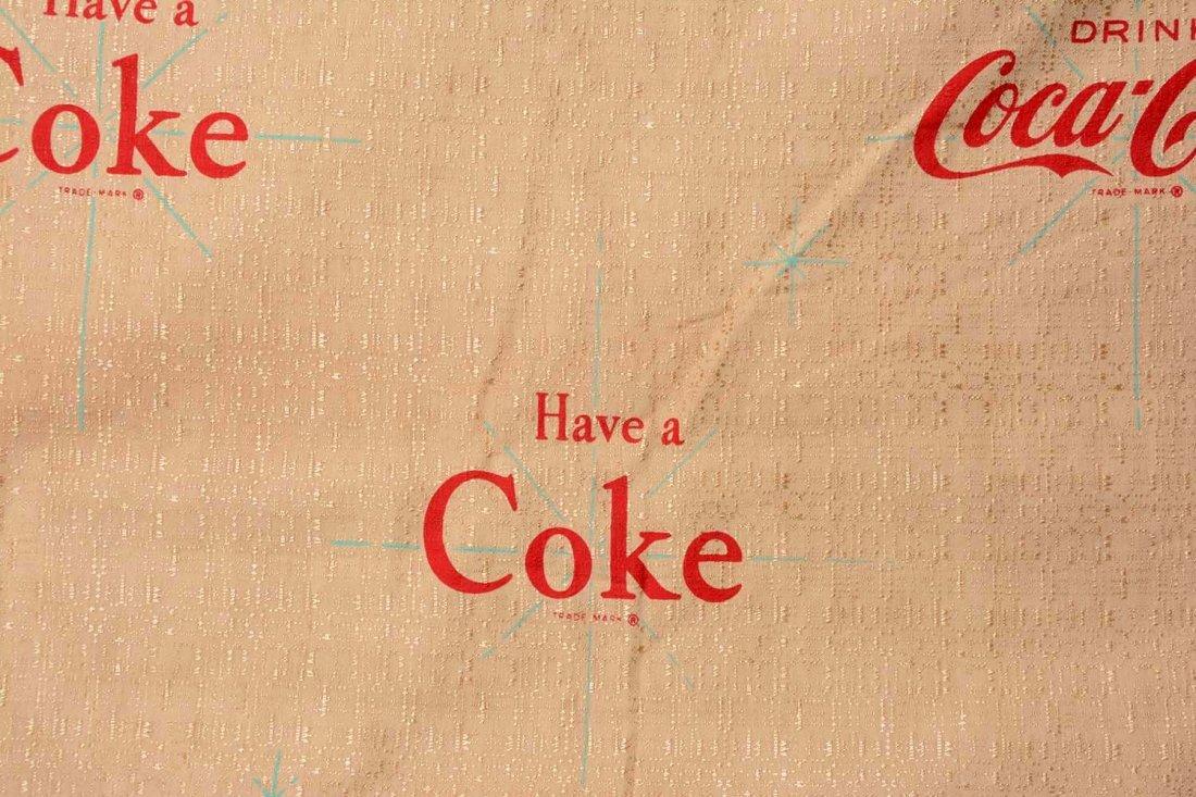 Coca-Cola Canvas Banner. - 2