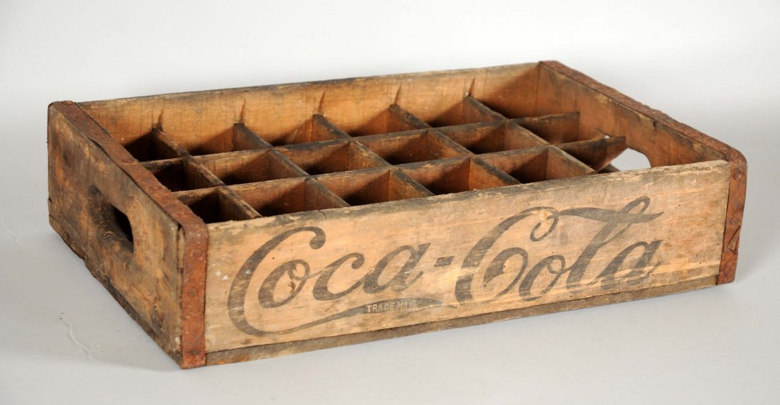 Early Coca-Cola Wooden Crate.