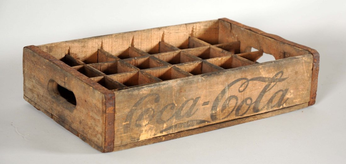Early Coca-Cola Wooden Crate. - 2