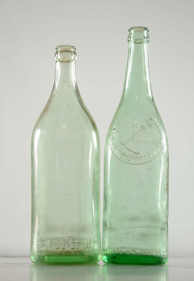Lot Of 2: Early Coca - Cola Over Sized Bottles.