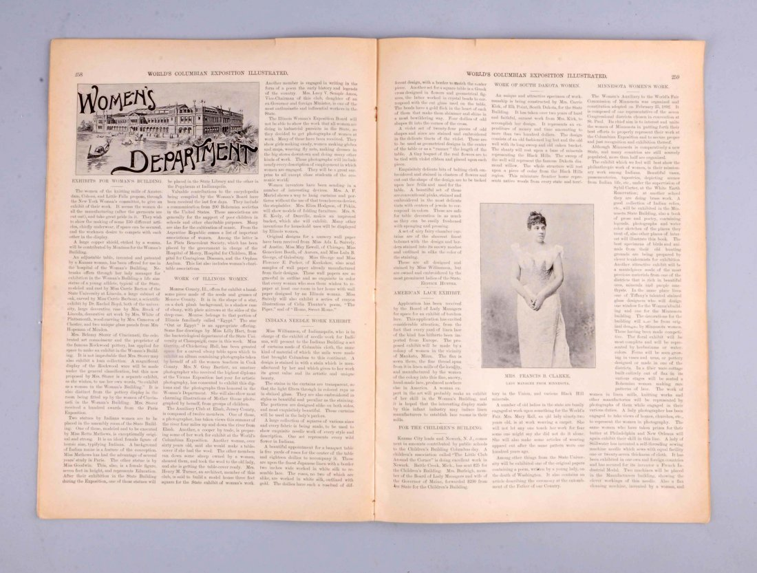 1893 World's Columbia Exposition Journal. - 2