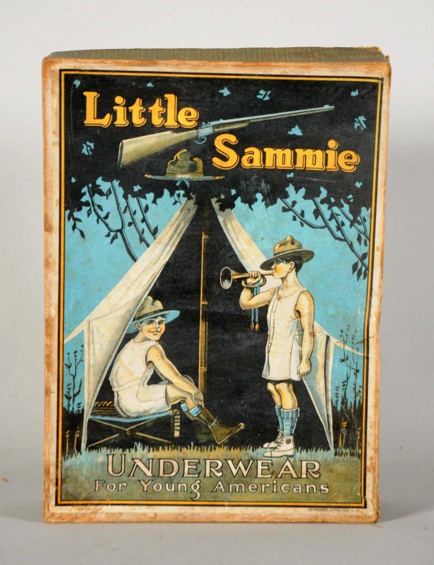 Little Sammie Underwear Advertising Box.