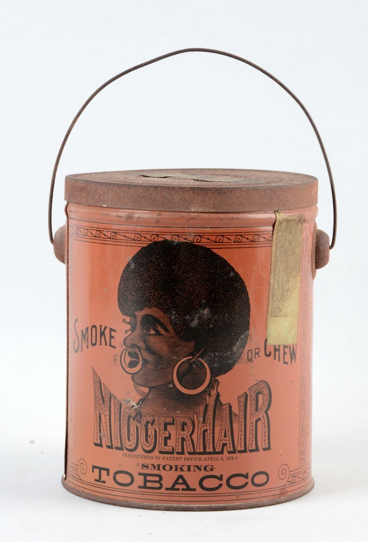 Early Tobacco Advertising Tin.
