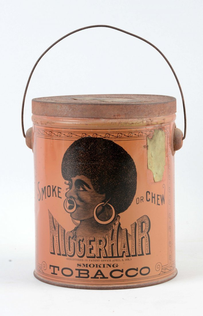 Early Tobacco Advertising Tin. - 2