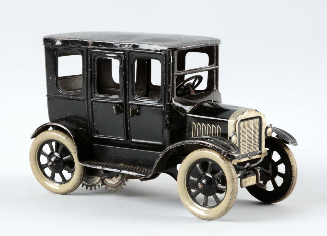 German Tin Litho Wind Up Orbor Sedan.