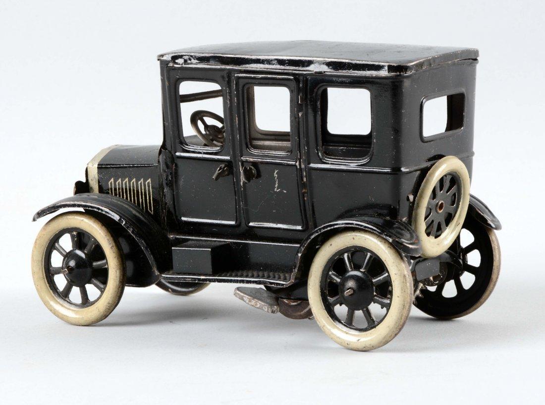 German Tin Litho Wind Up Orbor Sedan. - 2