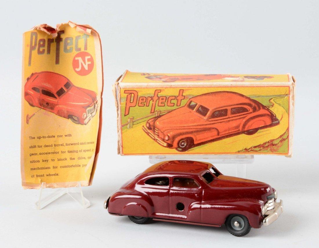 German Tin Litho J & F Automobile Toy.