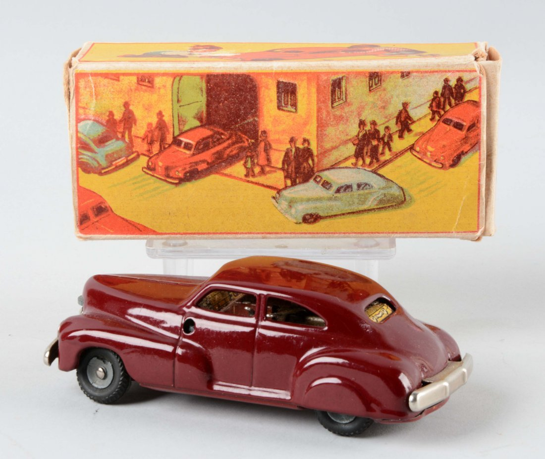 German Tin Litho J & F Automobile Toy. - 2