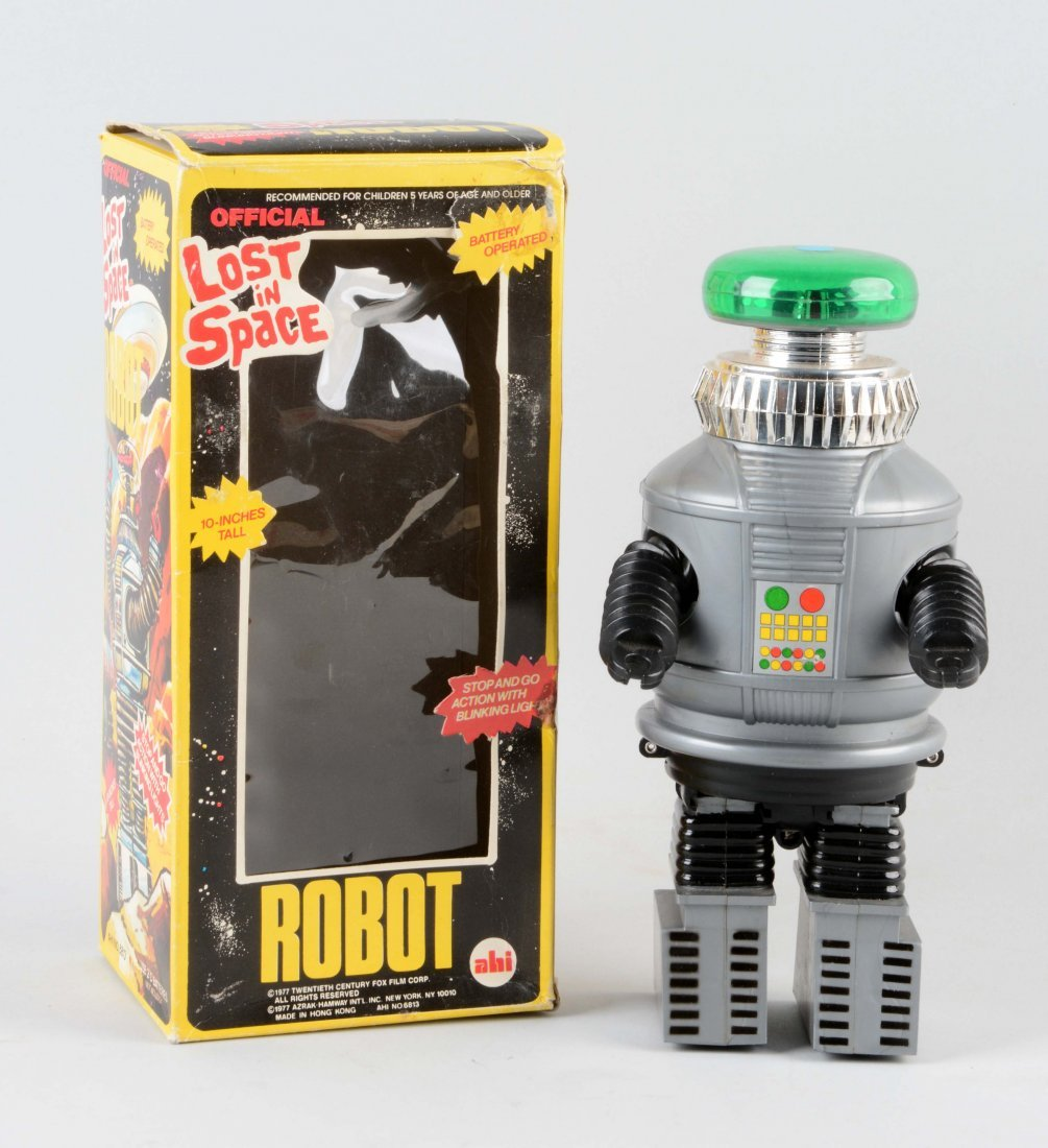 Japanese Battery Operated Lost In Space Robot.
