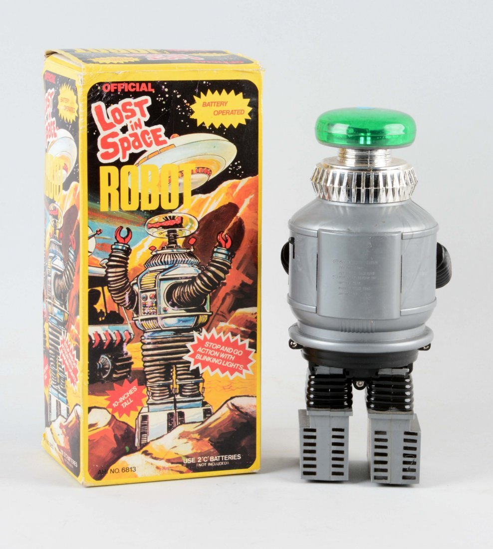 Japanese Battery Operated Lost In Space Robot. - 2