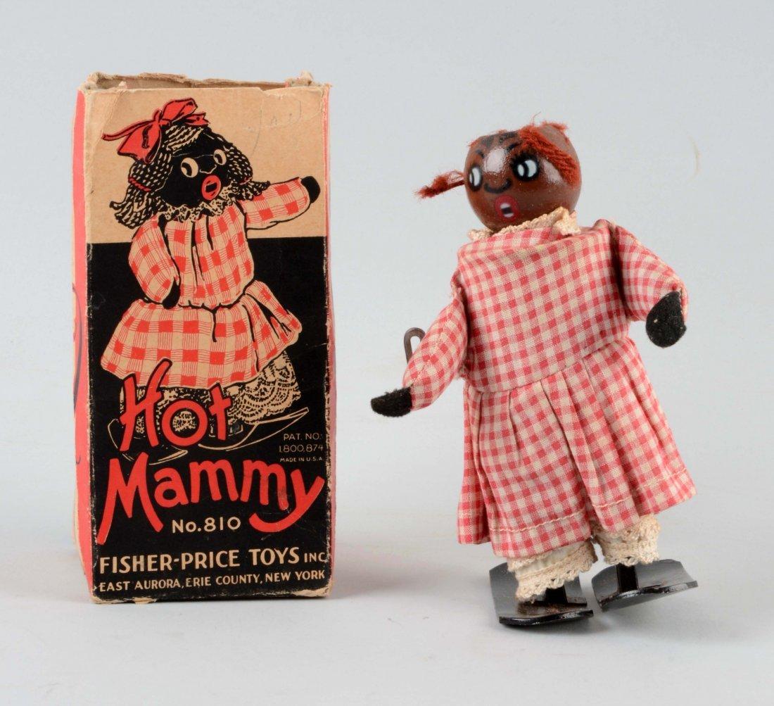 Fischer Price Wind Up Hot Mammy Toy.