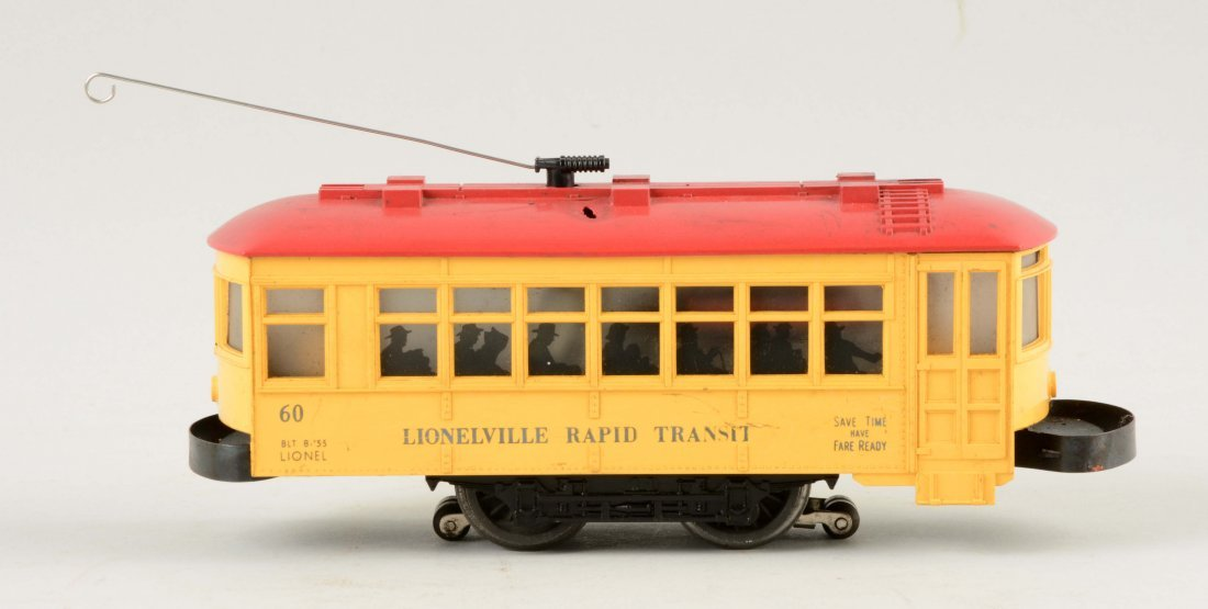 Lionel Postwar No. 60 Rapid Transit Trolley.