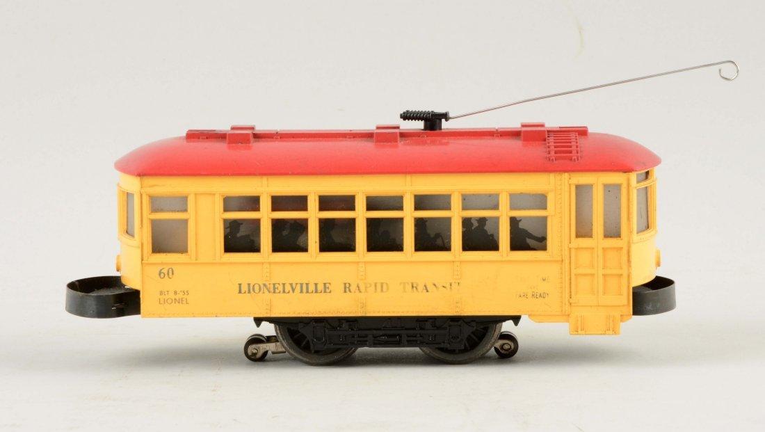 Lionel Postwar No. 60 Rapid Transit Trolley. - 2