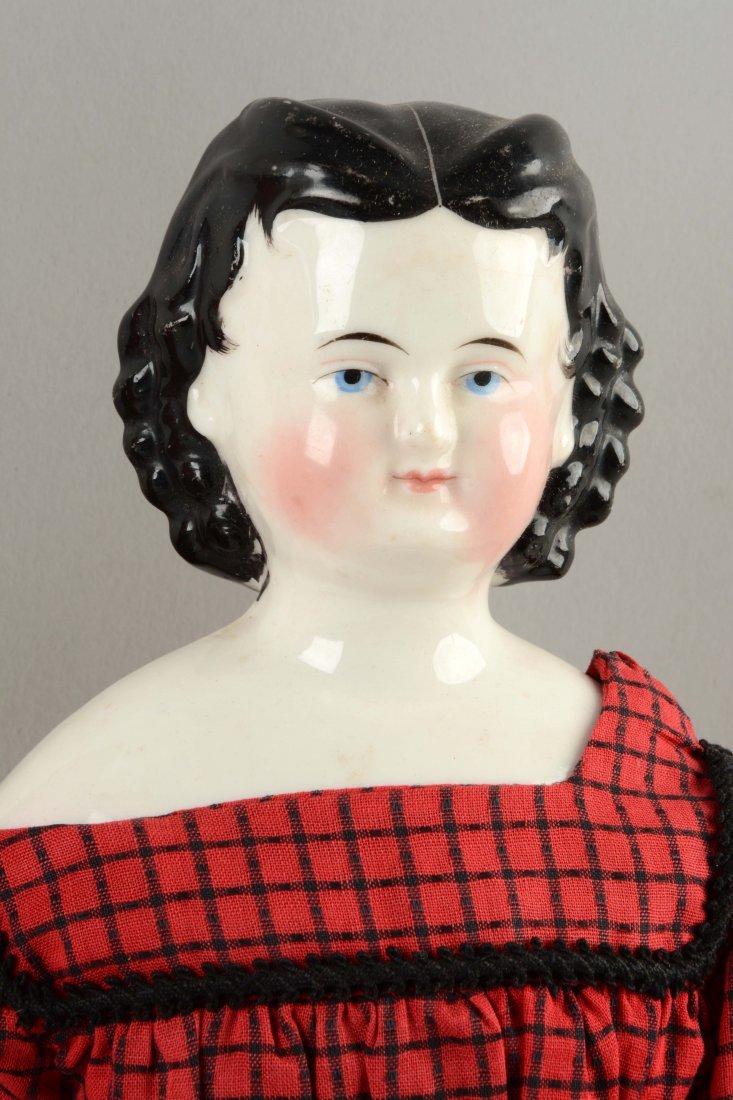 Lot Of 2: China Shoulder - Head Dolls. - 3