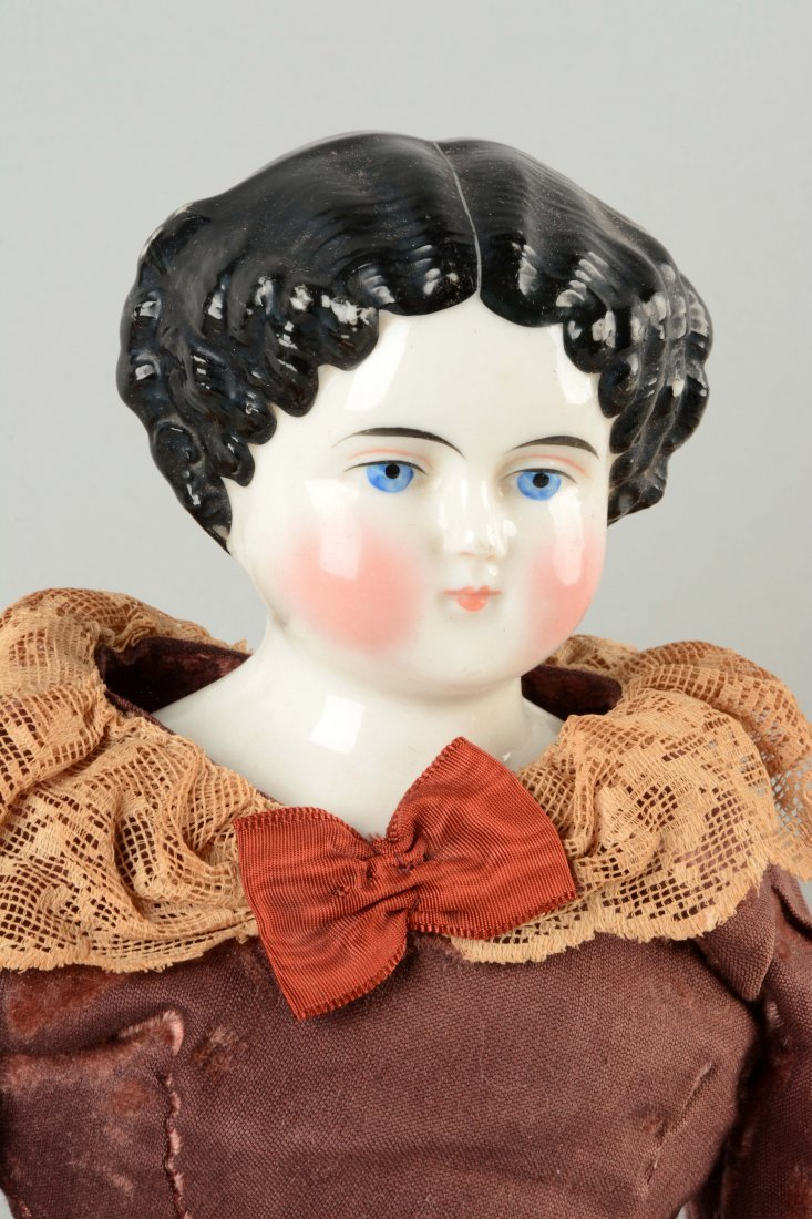 Lot Of 3: Assorted German China Head Dolls. - 2