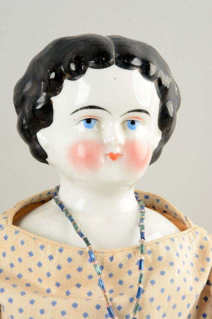 Lot Of 3: Assorted German China Head Dolls. - 4