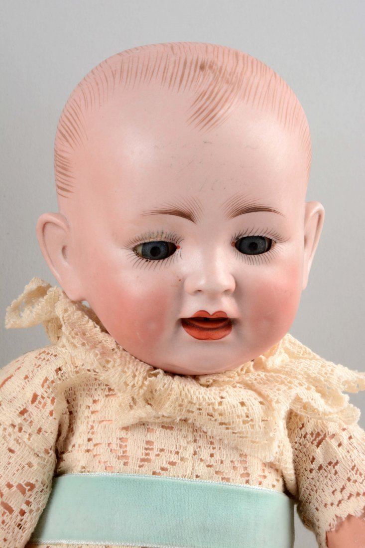 Lot Of 2: Bisque Head Baby Dolls. - 3