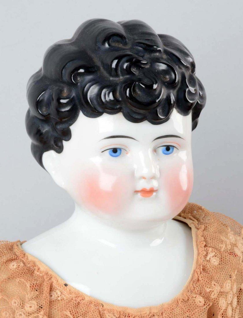 Lot Of 3: German China Shoulder Head Dolls. - 2