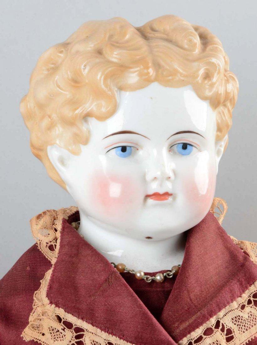 Lot Of 3: German China Shoulder Head Dolls. - 3