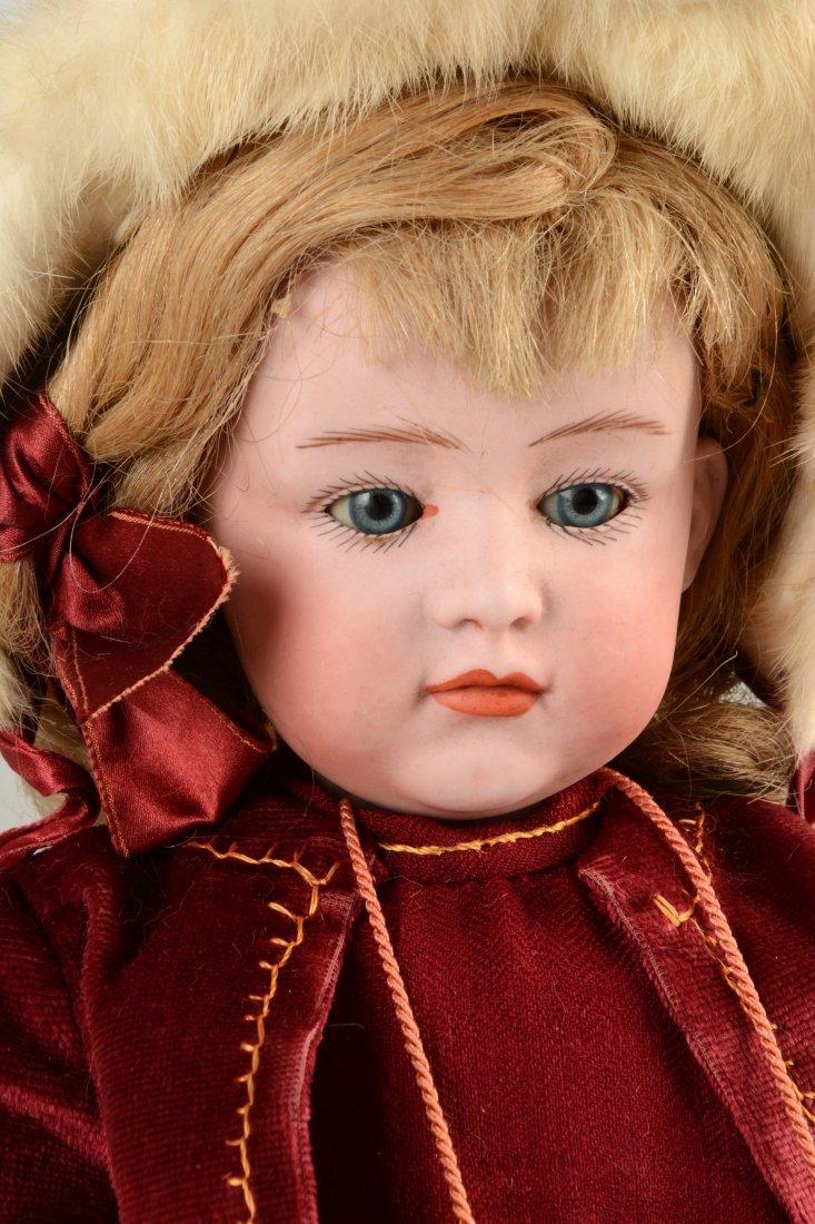 Lot Of 2: German Bisque Head Dolls. - 3