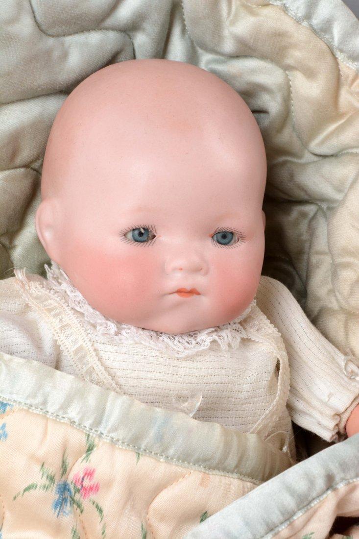 Lot Of 3: German Bisque Head Baby Dolls. - 2