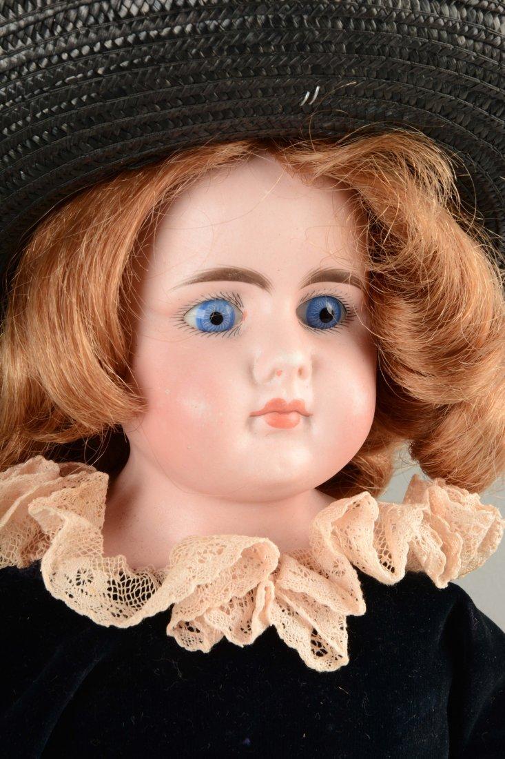Lot Of 2: German Bisque Shoulder - Head Dolls. - 3
