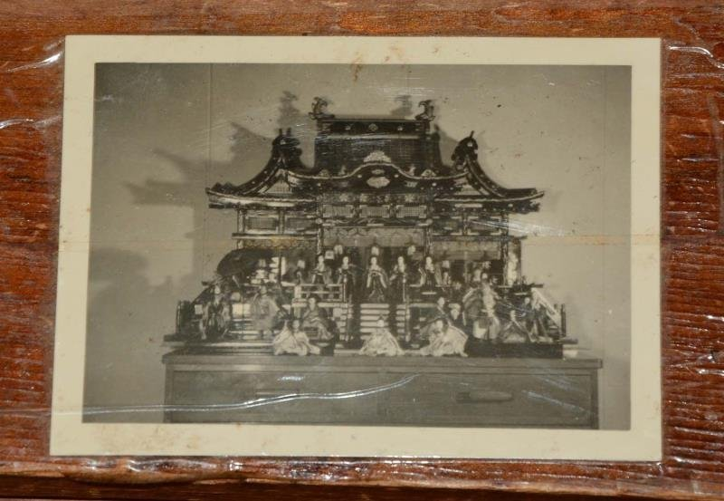 Japanese Doll Wooden Palace. - 2