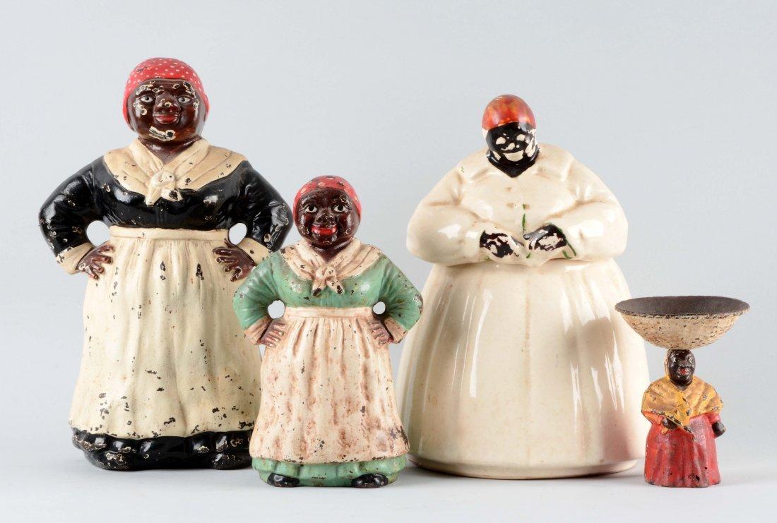 Lot Of 4: Black Americana Figures.