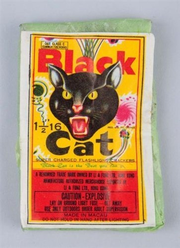 Black Cat 16-Pack Firecrackers.