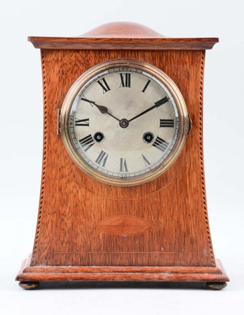 German Philip Haas and Sons Humpback Clock
