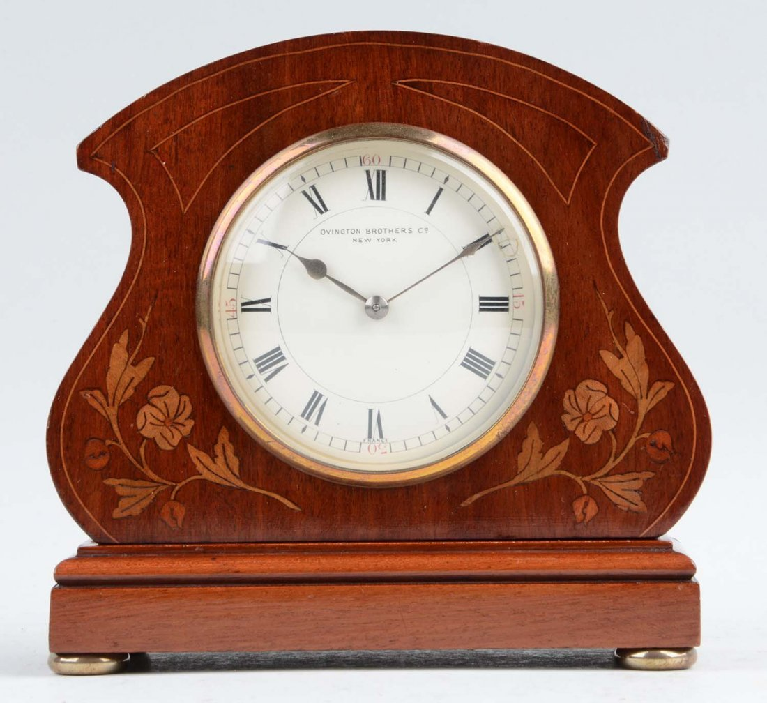Ovington Brothers & Co New York Clock.