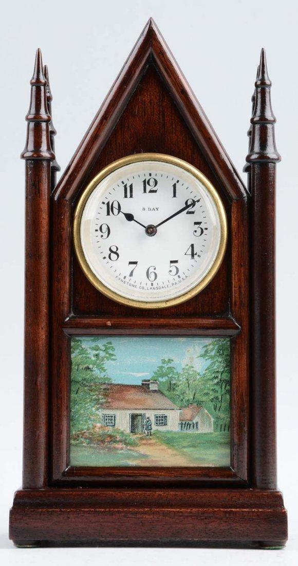 Fynetone Clock W/ Landscape