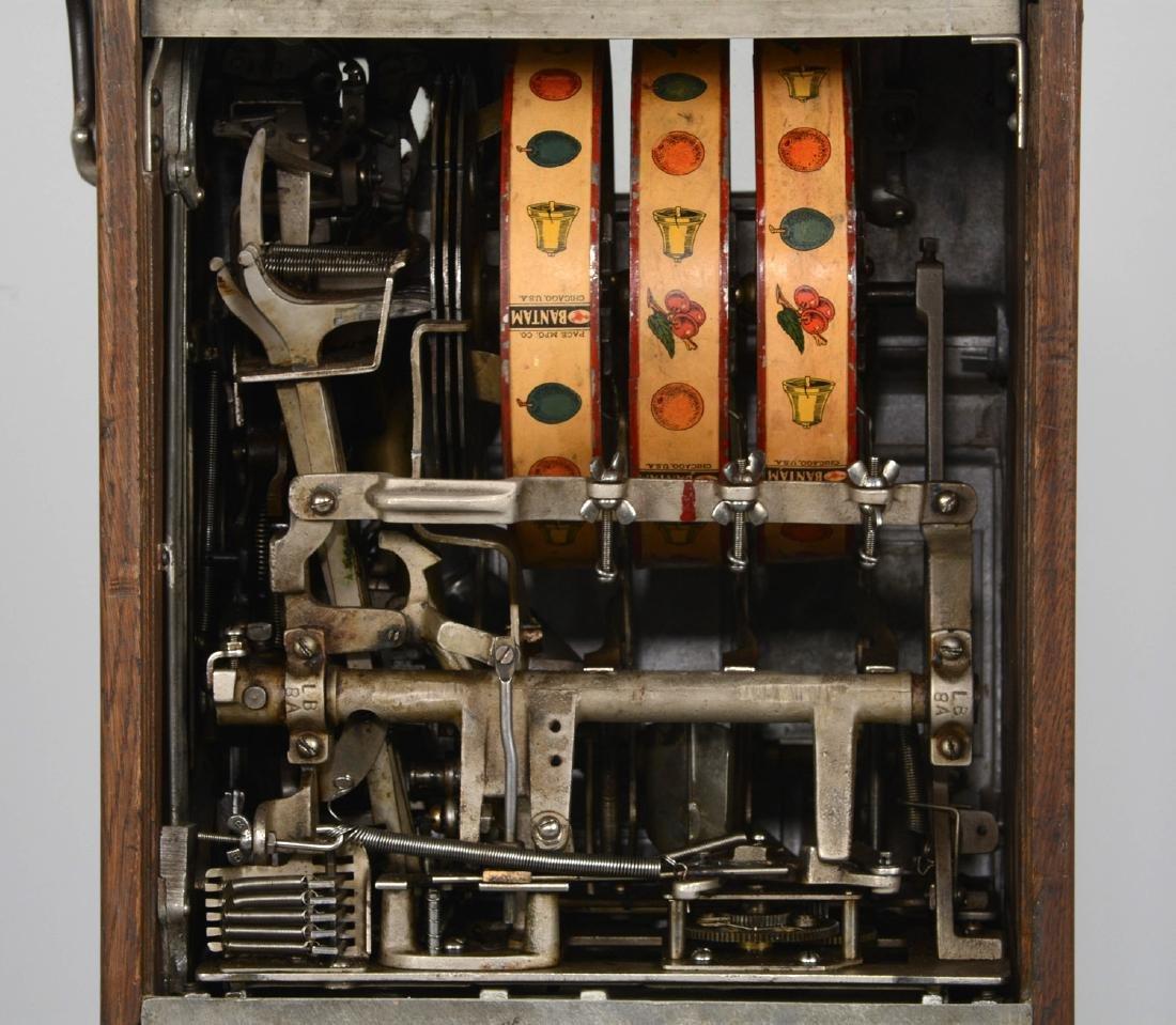 **5¢ Jennings Bull Durham Triple-Jax Slot Machine - 7