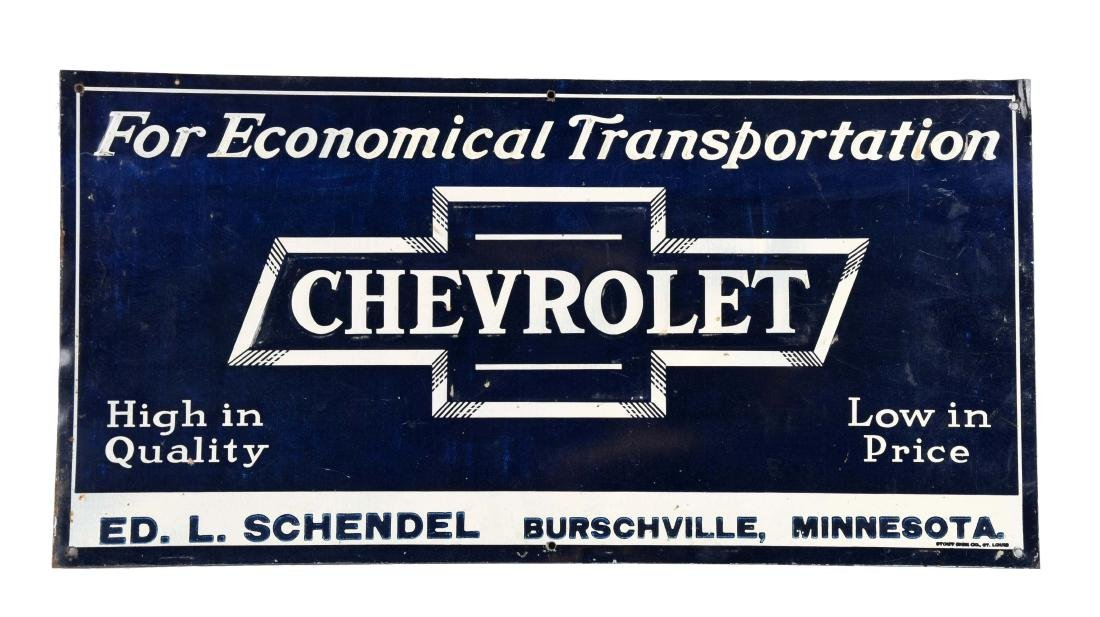 """Chevrolet in Bowtie """"For Economical Transportation"""""""