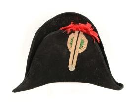 French High-Back Officer's Chapeau.