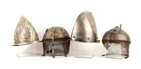 Lot Of 4: Reproduction and Original Helmets