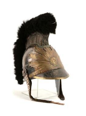 French, Garde du Roi, Late 19th Century Helmet.