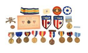 Group of American Medals.