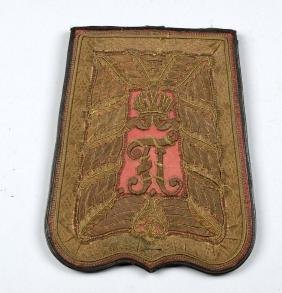 Embroidered Hussar Officer's Sabretache.